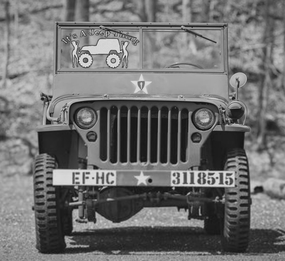 2 Jeep thing Willys convertible SUV