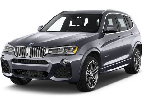 BMW X3 Front 3/4