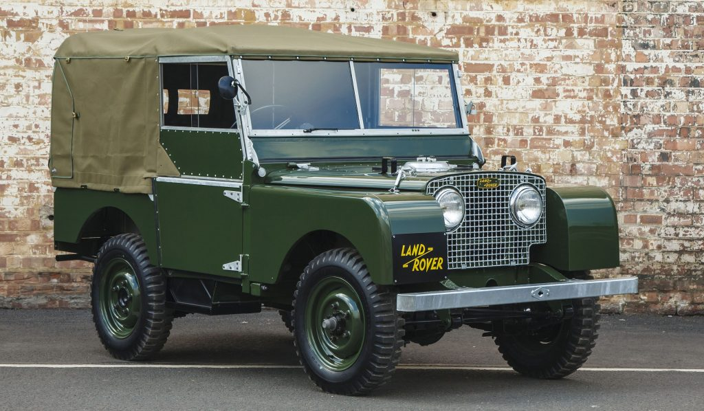 5 Land Rover Series 1 Convertible SUVs