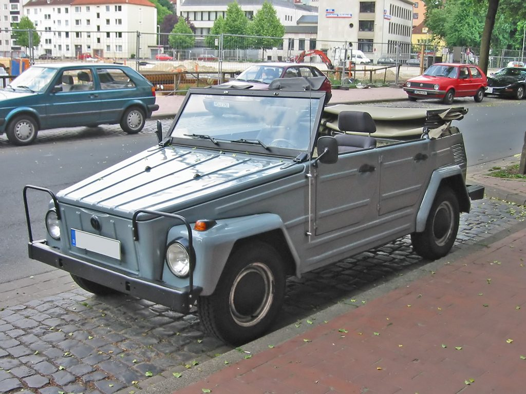 7 Volkswagen Thing convertible SUV