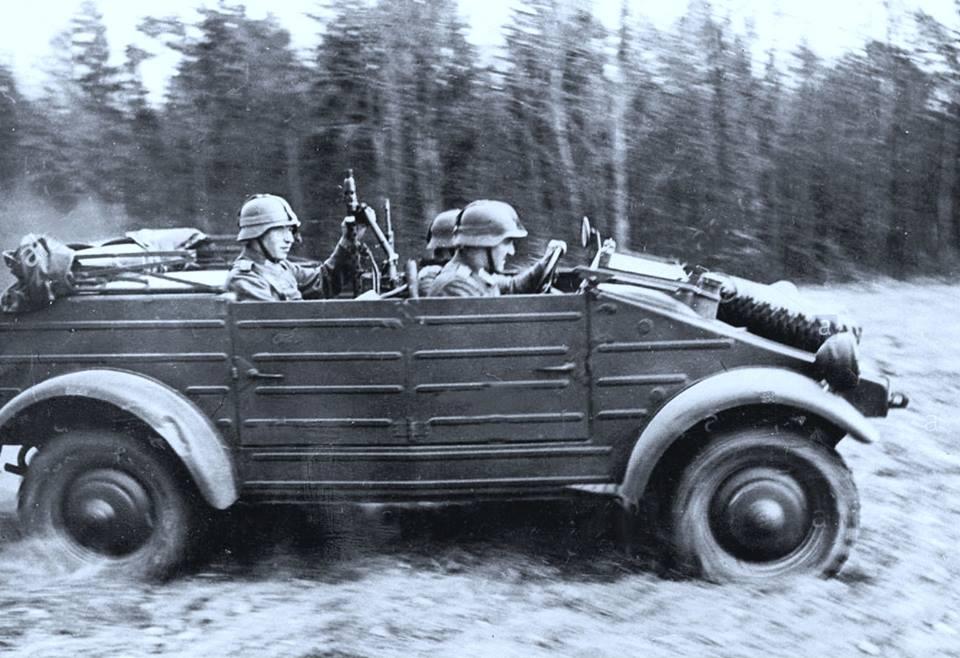 8 VW Kubelwagen convertible