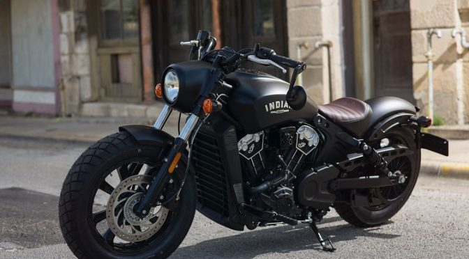 American Motorcycles - Indian Scout Bobber