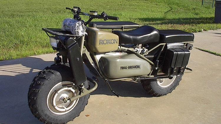 American Motorcycles -Rokon TrailBreaker