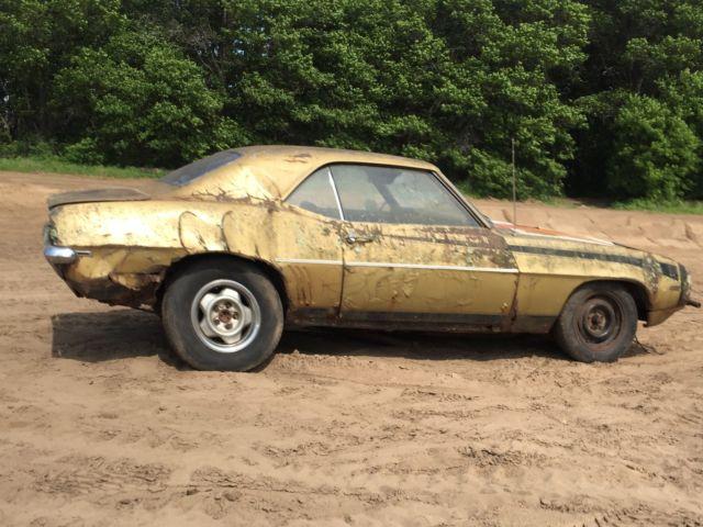 Chevy Camaro Barn Find