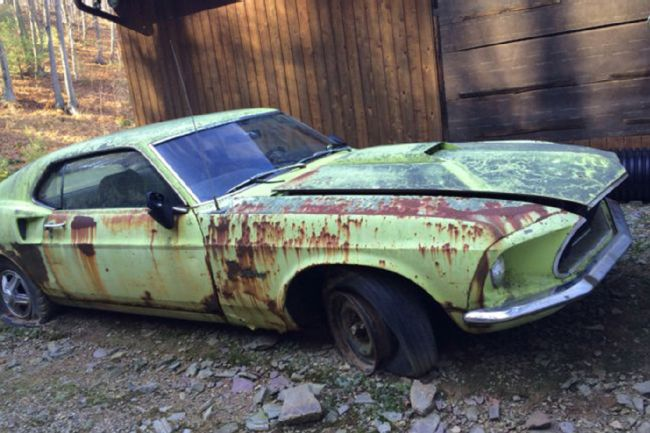 Ford Mustang Boss Barn Find
