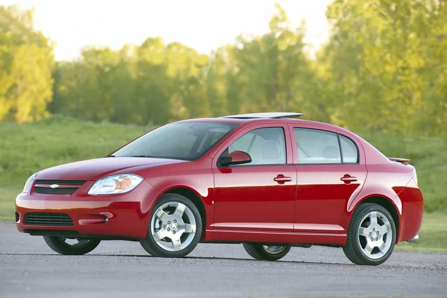 The Chevrolet Cobalt is on our list of cars under 5000