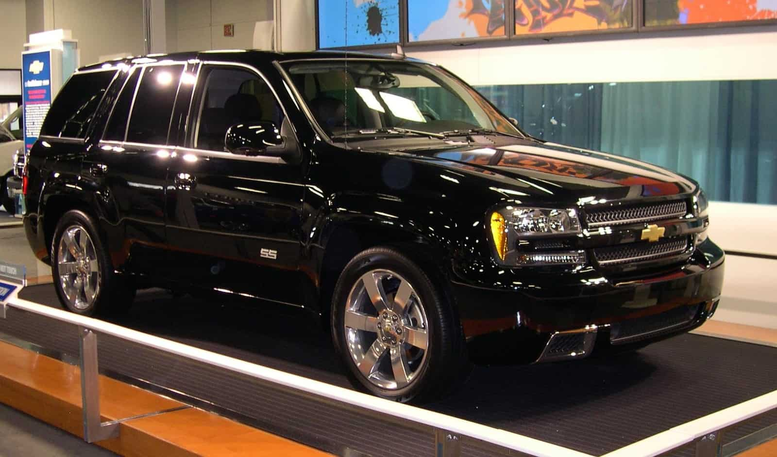 Find a Chevrolet TrailBlazer as cars under 5000