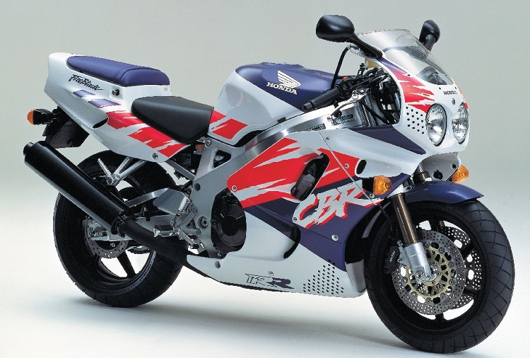 1992 Honda CBR900RR Side View