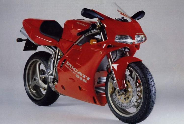 Crotch Rocket 1994 Ducati 916