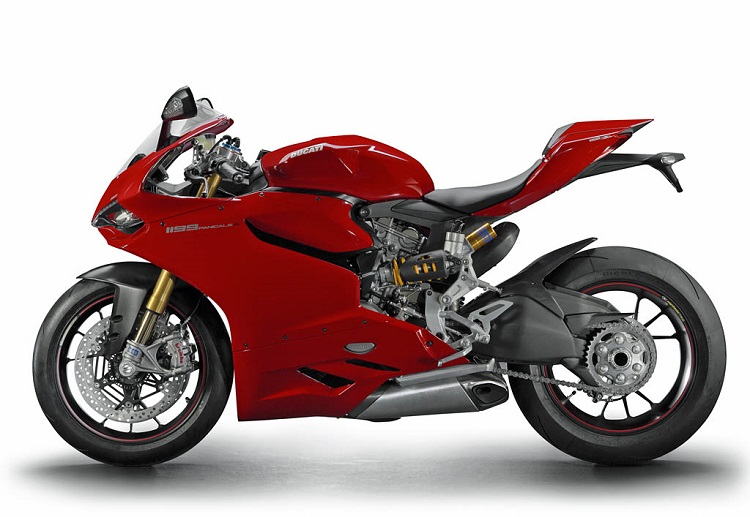 2011 Ducati 1199 Panigale Side View