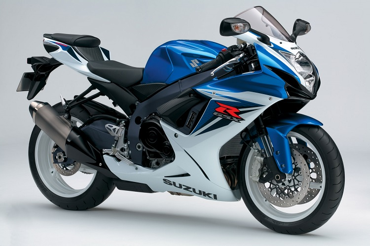 2012 Suzuki GSX-R600 Side View