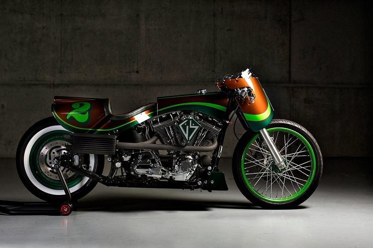 Custom Harleys - GS Mashin