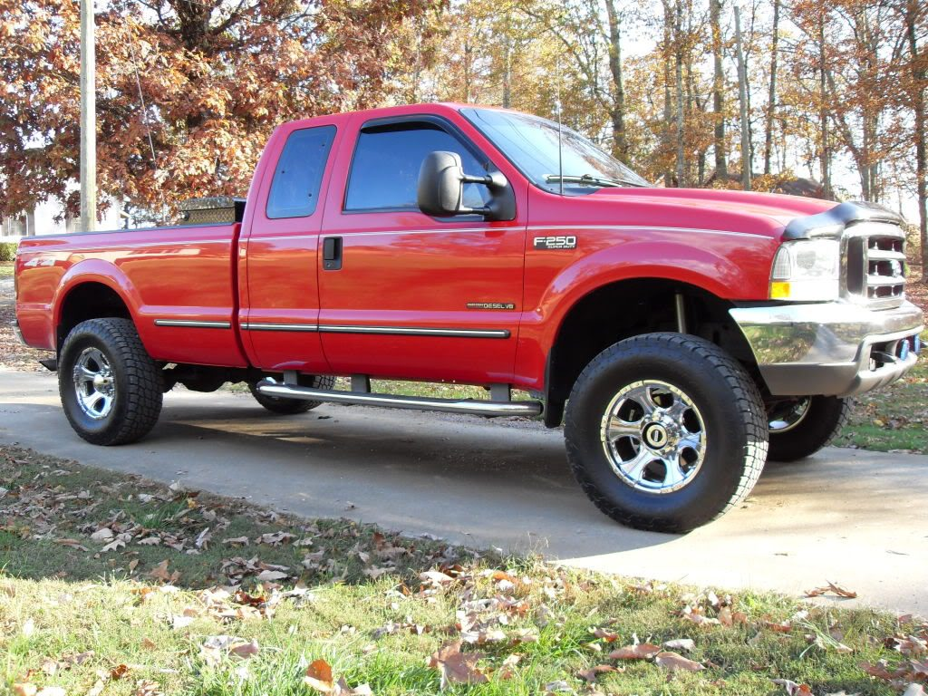 Ford F250 Power Stroke sideview