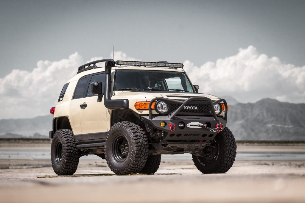 Toyota FJ Cruiser Front 3/4 - Best Real Truck