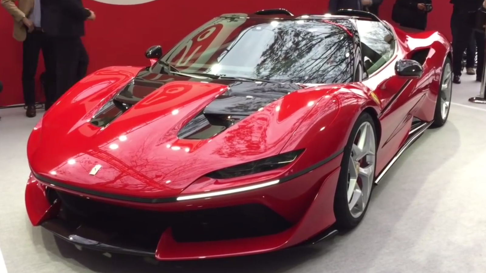 Ferrari 488 J50 hot cars are intimidating