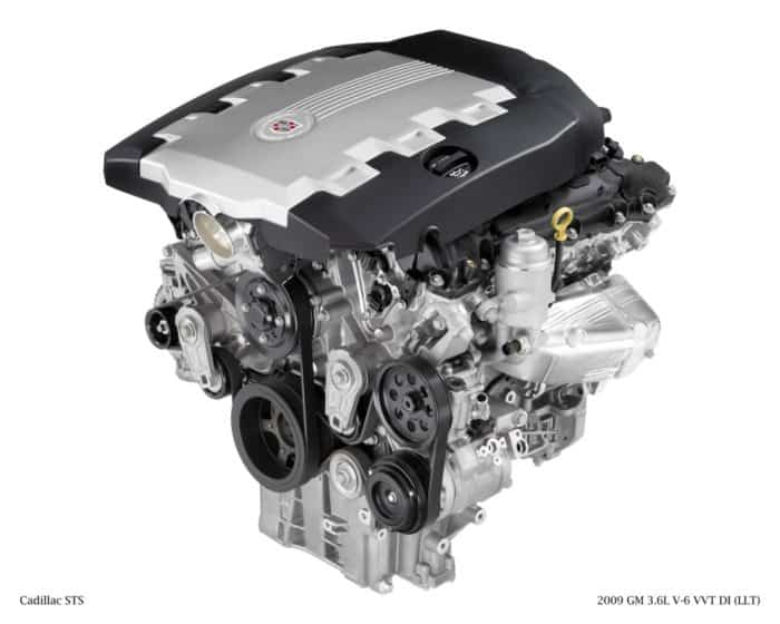 2009 GM 3.6L V-6 VVT DI (LLT)