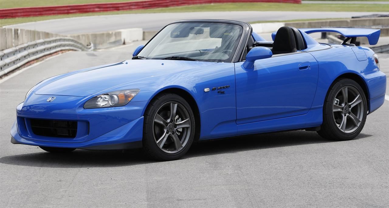 The sportiest Honda used cars are Honda S2000s