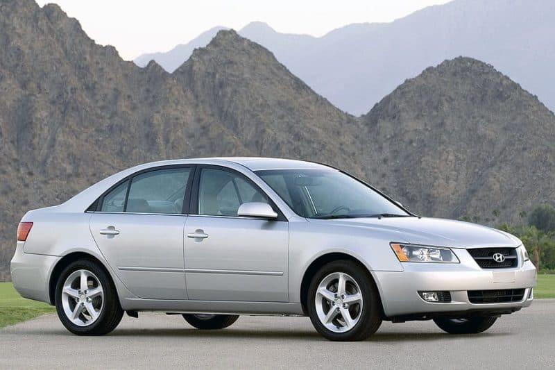 Hyundai Sonata Front 3/4 - Used Cars Under $2,000