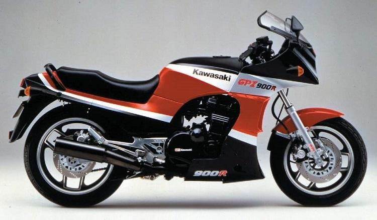 The Kawasaki GPZ900R