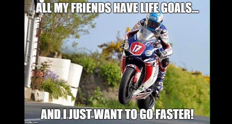 Make Your Motorcycle Faster - Meme