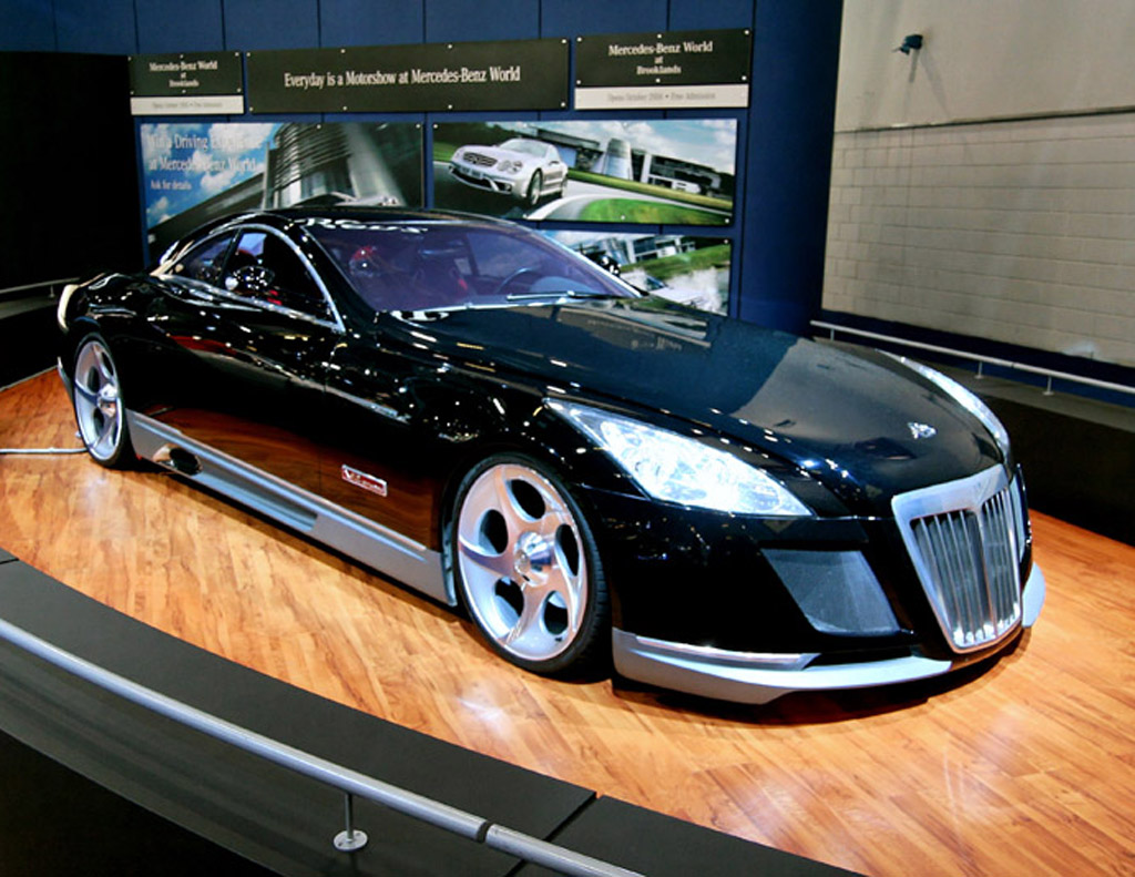 The Exelero is a one-off hot cars