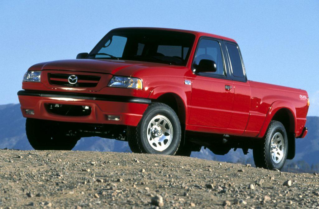 Mazda B Series Front 3/4