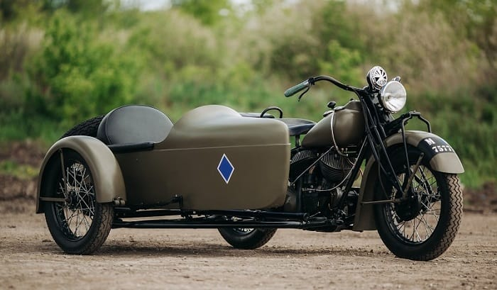 Motorcycle Sidecar - Indian Model 340 B