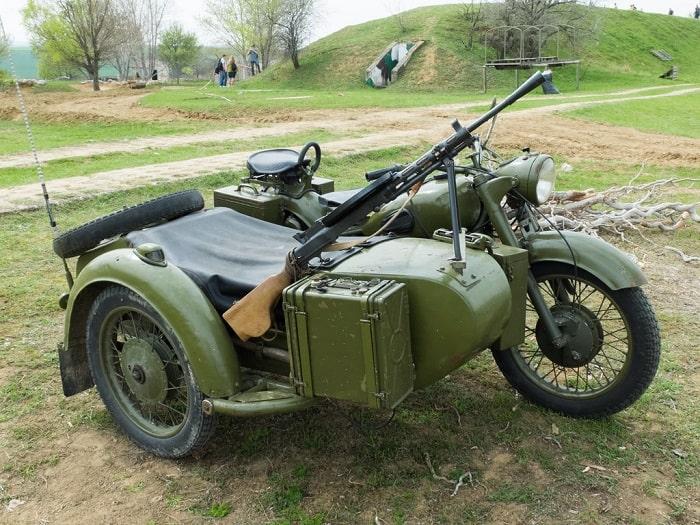 WW2 Motorcycle Sidecar - M-72