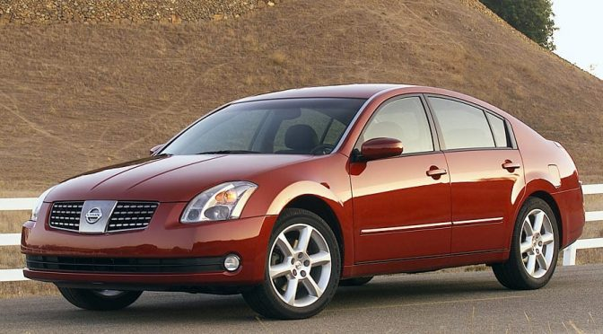 Nissan Maxima Front 3/4 - Used Cars Under $2,000