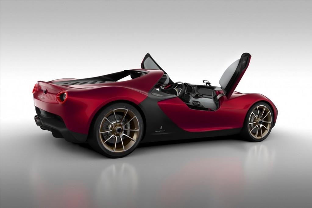 Ferrari hot cars include the Pininfarina Sergio