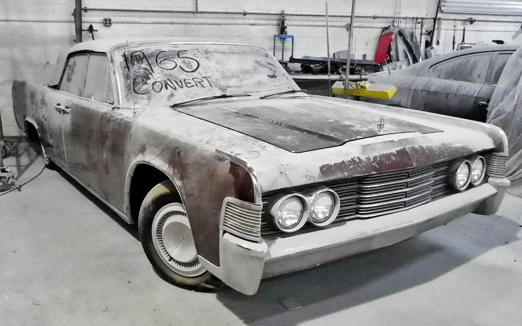 Lincoln Continental Barn Find