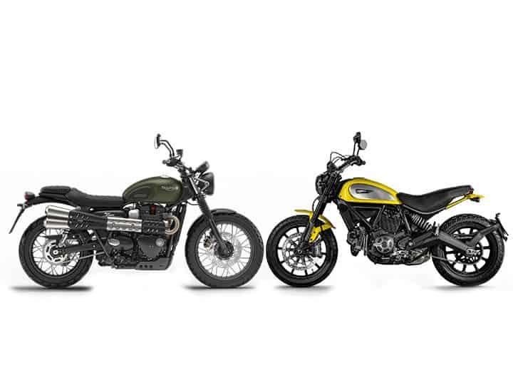 Scrambler Motorcycle - Compare