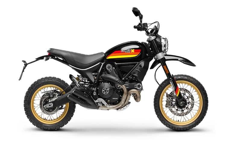Scrambler Motorcycle - Ducati Scrambler Desert Sled