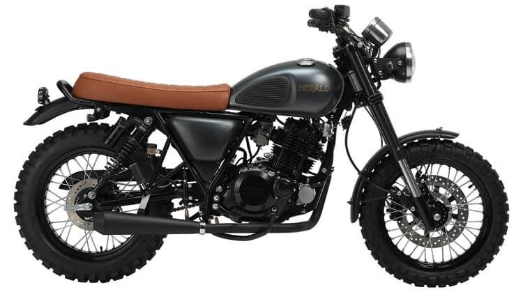 Scrambler Motorcycle - Herald Motorcycles Rambler 250