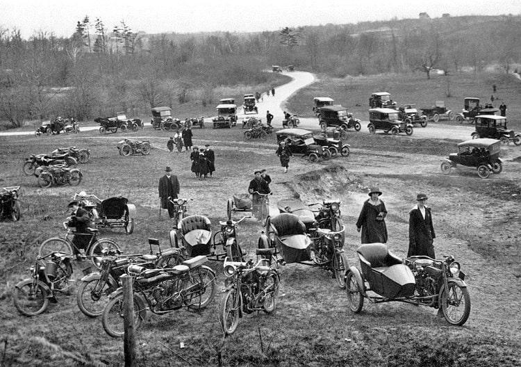 Scrambler Motorcycle History