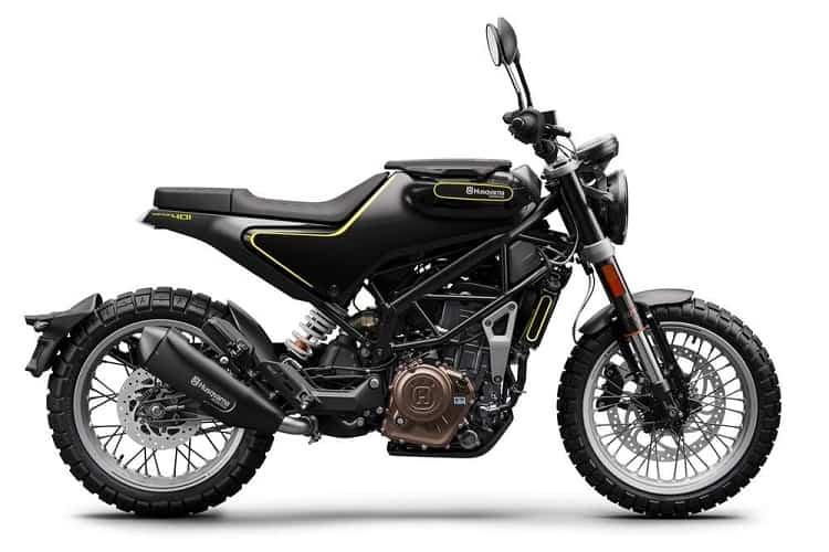 Scrambler Motorcycle - Husqvarna Svartpilen 401