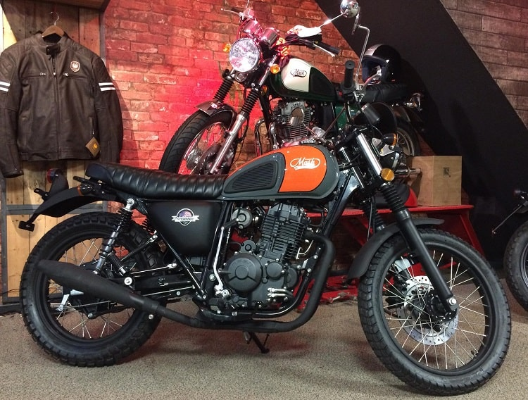 Scrambler Motorcycle - Mash Motorcycles DirtStar 400