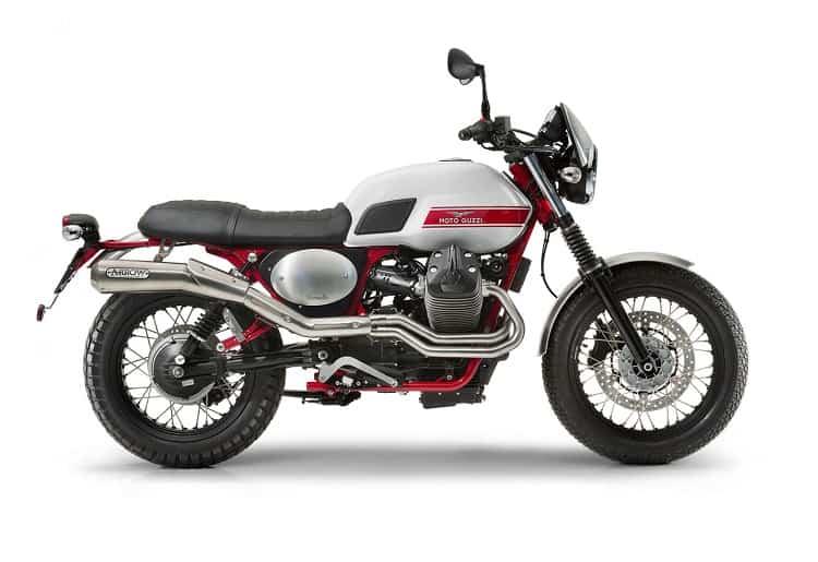 Scrambler Motorcycle - Moto Guzzi V7 II Stornello
