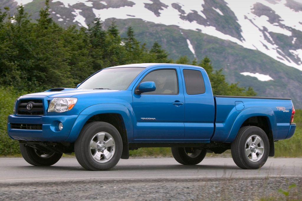 Toyota Tacoma TRD Sport Front 3/4