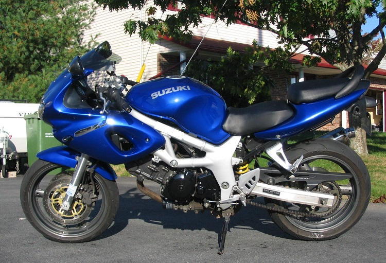 Cheap Track Motorcycle - 2000 Suzuki SV650S