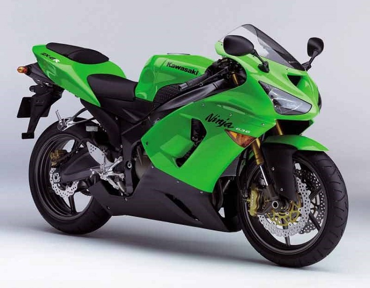 Cheap Track Motorcycle - 2005 Kawasaki ZX-6R 636