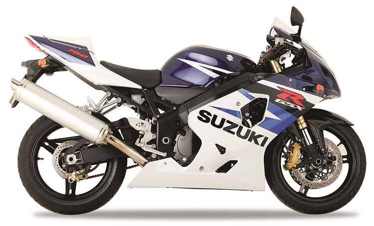 Cheap Track Motorcycle - K4 Suzuki GSX-R750