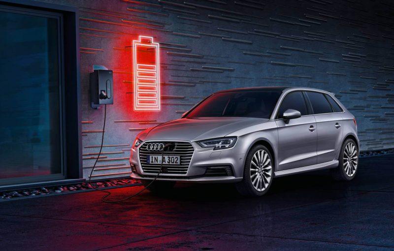 Audi A3 Sportback e-tron 3/4 view