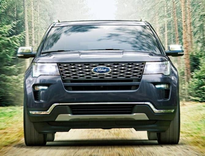 Ford Explorer Sport Head-On