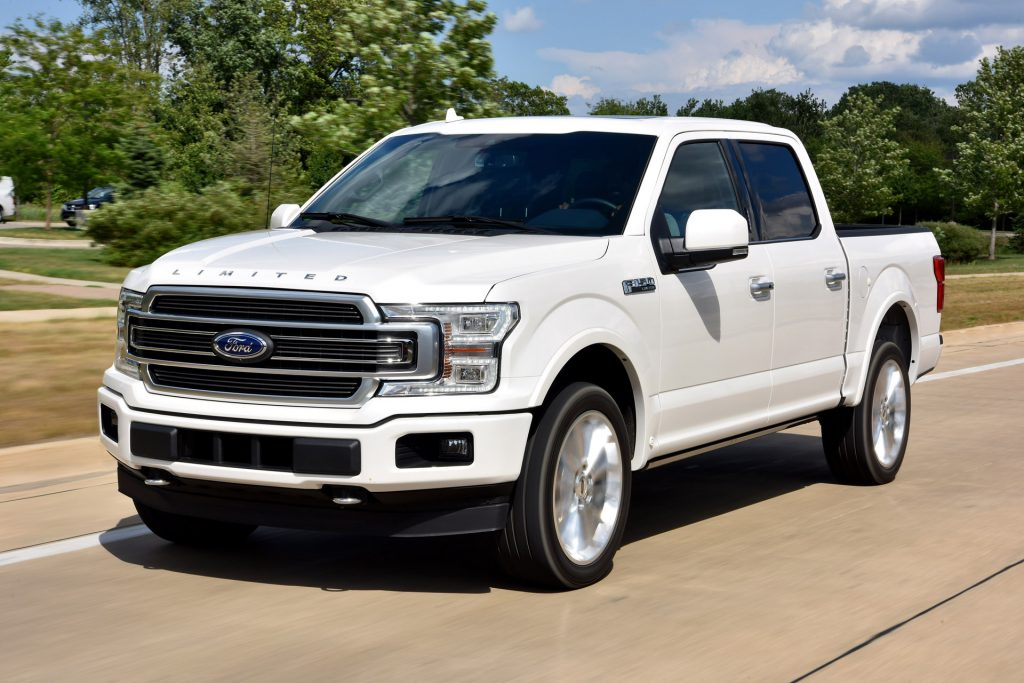 Best 2019 Trucks - Ford F-150 front 3/4 view