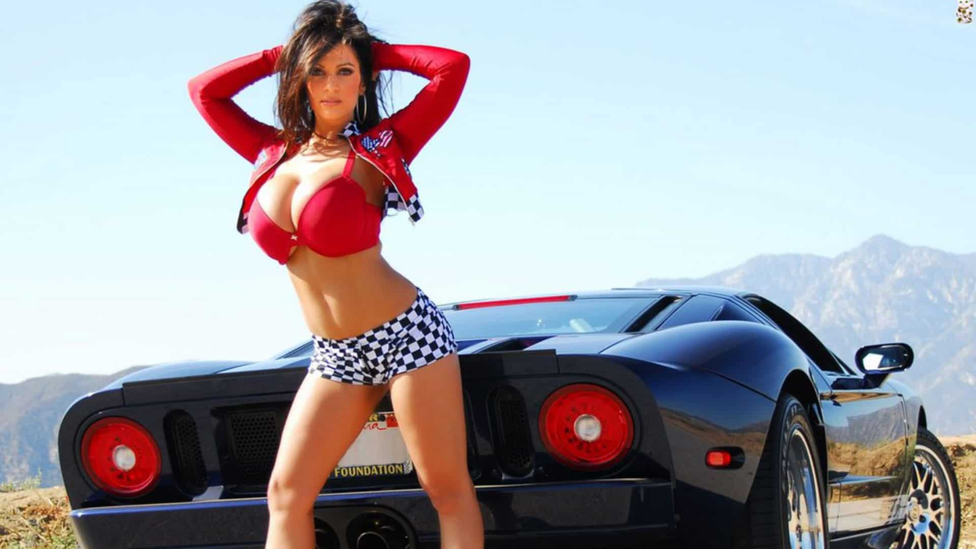 Hot cars with hot sexy girls images 739