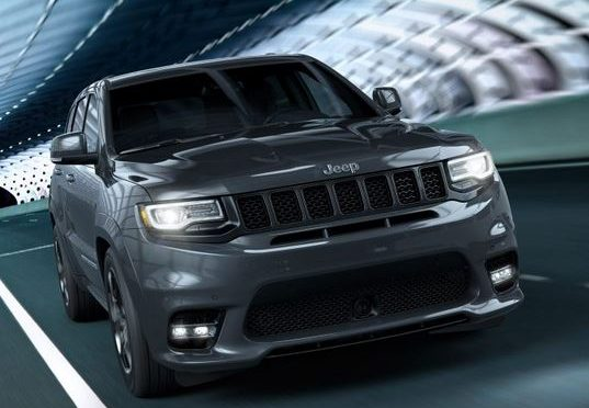 Jeep Grand Cherokee SRT - Best Sporty SUV
