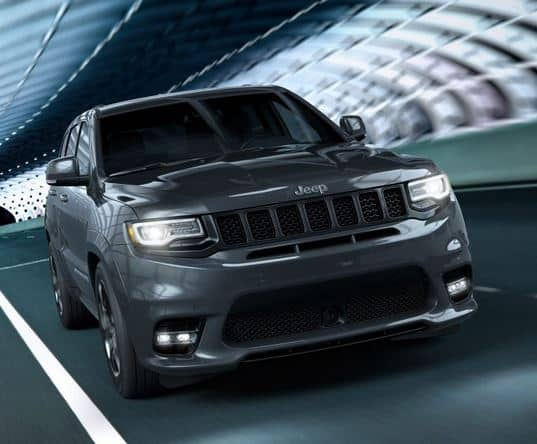 Jeep Grand Cherokee SRT8 Front View Rolling