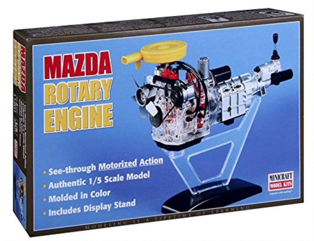 Minicraft models Visible Rotary engine Mini Engine Kit