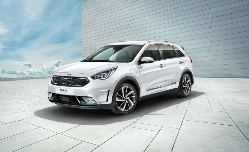 Kia Niro Plug-in Hybrid 3/4 view